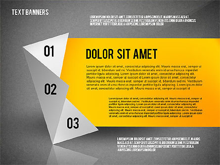Creative Text Banners Toolbox, Slide 10, 02465, Text Boxes — PoweredTemplate.com