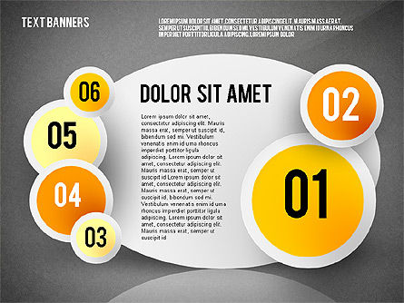 Creative Text Banners Toolbox, Slide 11, 02465, Text Boxes — PoweredTemplate.com