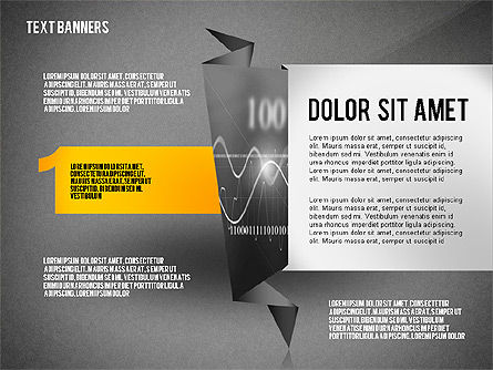 Creative Text Banners Toolbox, Slide 13, 02465, Text Boxes — PoweredTemplate.com