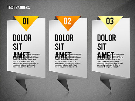 Creative Text Banners Toolbox, Slide 16, 02465, Text Boxes — PoweredTemplate.com