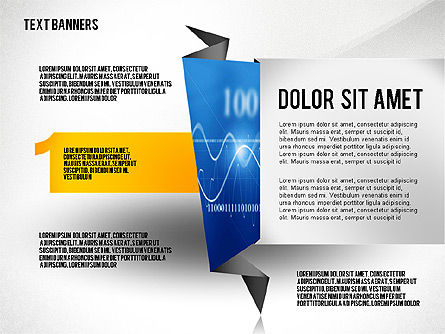 Creative Text Banners Toolbox, Slide 5, 02465, Text Boxes — PoweredTemplate.com
