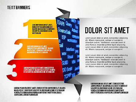 Creative Text Banners Toolbox, Slide 7, 02465, Text Boxes — PoweredTemplate.com