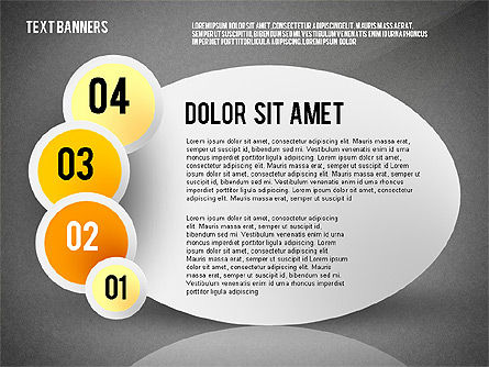 Creative Text Banners Toolbox, Slide 9, 02465, Text Boxes — PoweredTemplate.com