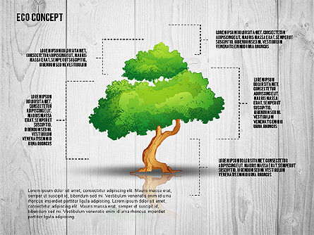 Ecology Concept Presentation Template, 02466, Presentation Templates — PoweredTemplate.com
