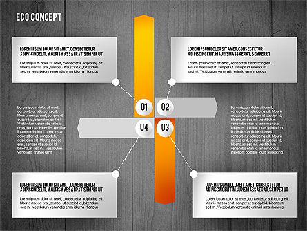 Ecology Concept Presentation Template, Slide 10, 02466, Presentation Templates — PoweredTemplate.com