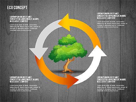 Ecology Concept Presentation Template, Slide 11, 02466, Presentation Templates — PoweredTemplate.com