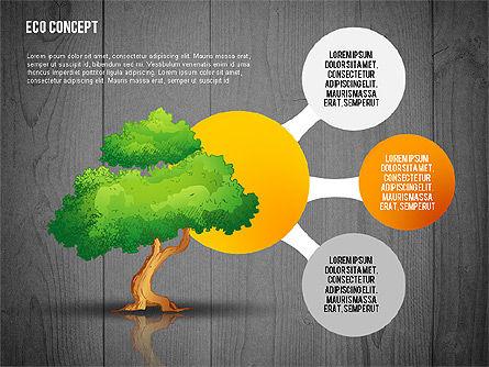 Ecology Concept Presentation Template, Slide 13, 02466, Presentation Templates — PoweredTemplate.com
