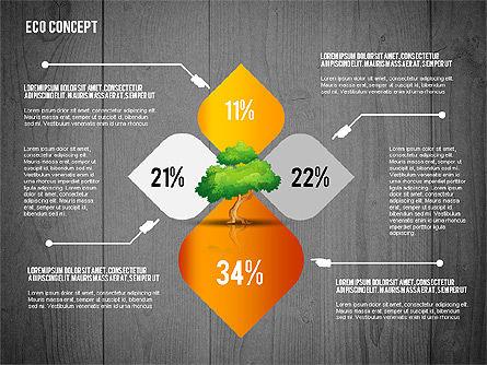 Ecology Concept Presentation Template, Slide 14, 02466, Presentation Templates — PoweredTemplate.com