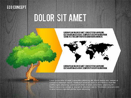 Ecology Concept Presentation Template, Slide 15, 02466, Presentation Templates — PoweredTemplate.com