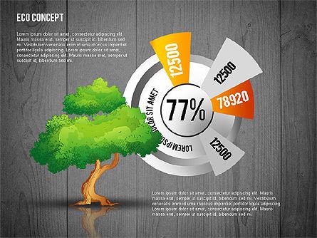 Ecology Concept Presentation Template, Slide 16, 02466, Presentation Templates — PoweredTemplate.com