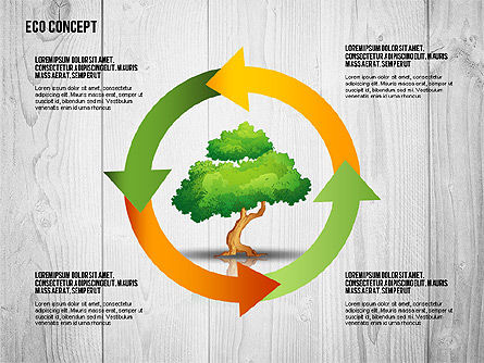 Ecology Concept Presentation Template, Slide 3, 02466, Presentation Templates — PoweredTemplate.com