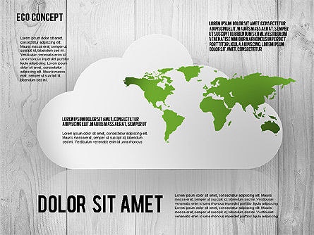 Ecology Concept Presentation Template, Slide 4, 02466, Presentation Templates — PoweredTemplate.com