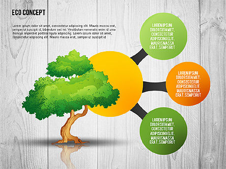 Ecology Concept Presentation Template, Slide 5, 02466, Presentation Templates — PoweredTemplate.com