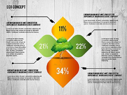 Ecology Concept Presentation Template, Slide 6, 02466, Presentation Templates — PoweredTemplate.com
