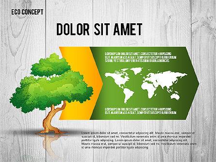 Ecology Concept Presentation Template, Slide 7, 02466, Presentation Templates — PoweredTemplate.com