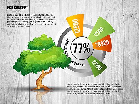 Ecology Concept Presentation Template, Slide 8, 02466, Presentation Templates — PoweredTemplate.com