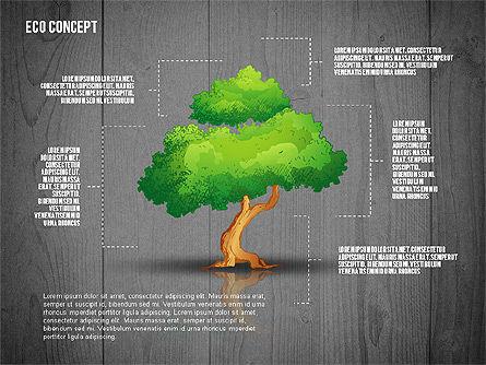 Ecology Concept Presentation Template, Slide 9, 02466, Presentation Templates — PoweredTemplate.com