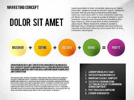 Marketing Presentation Template, Slide 2, 02467, Presentation Templates — PoweredTemplate.com