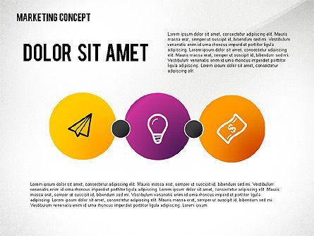 Marketing Presentation Template, Slide 8, 02467, Presentation Templates — PoweredTemplate.com
