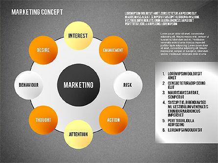 Marketing Presentation Template, Slide 9, 02467, Presentation Templates — PoweredTemplate.com
