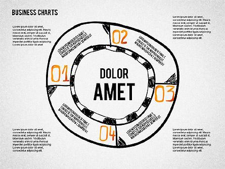 Doodle Charts, 02470, Business Models — PoweredTemplate.com