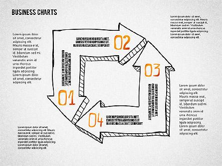 Doodle Charts, Slide 2, 02470, Business Models — PoweredTemplate.com