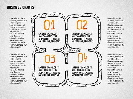 Doodle Charts, Slide 3, 02470, Business Models — PoweredTemplate.com