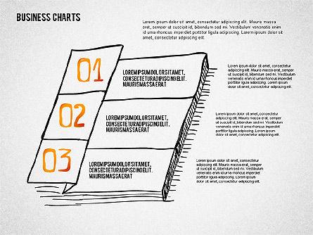 Doodle Charts, Slide 4, 02470, Business Models — PoweredTemplate.com