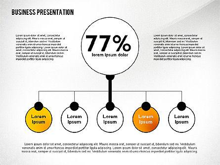 Business Presentation with Data Driven Charts, Slide 6, 02472, Presentation Templates — PoweredTemplate.com