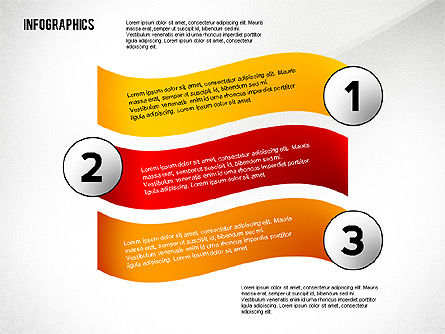 Colorful Infographic Banners, Slide 4, 02474, Infographics — PoweredTemplate.com