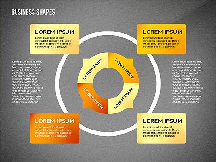 Infographics Diagrams Toolbox, Slide 10, 02475, Infographics — PoweredTemplate.com