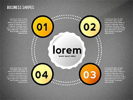 Infographics Diagrams Toolbox, Slide 15, 02475, Infographics — PoweredTemplate.com
