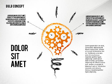 Shapes: Idea Bulb Concept #02476