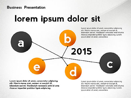 Presentation Templates: Business Networking Presentation Template #02479