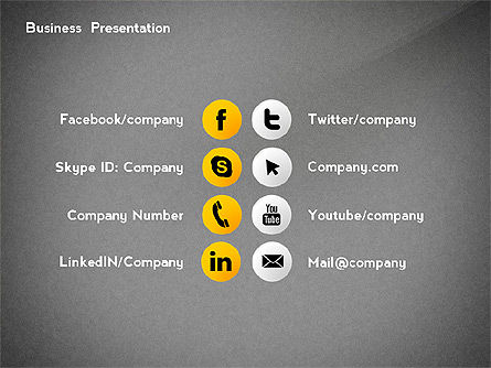 Business Networking Presentation Template, Slide 16, 02479, Presentation Templates — PoweredTemplate.com