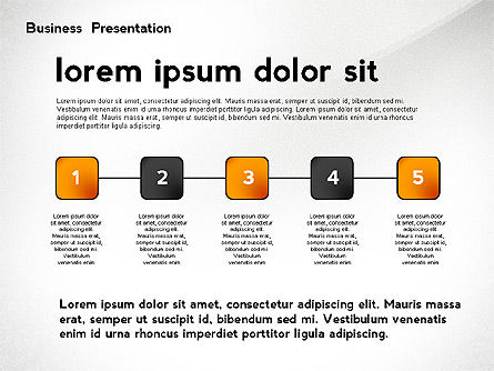 Business Networking Presentation Template, Slide 5, 02479, Presentation Templates — PoweredTemplate.com