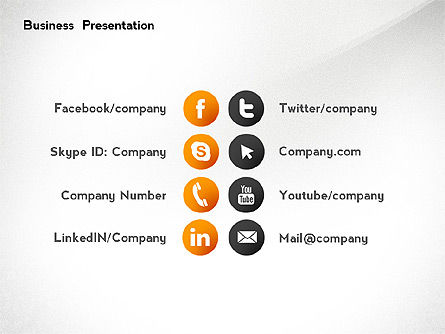 Business Networking Presentation Template, Slide 8, 02479, Presentation Templates — PoweredTemplate.com