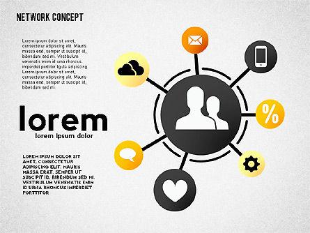 Networking Presentation Template, Slide 3, 02482, Presentation Templates — PoweredTemplate.com