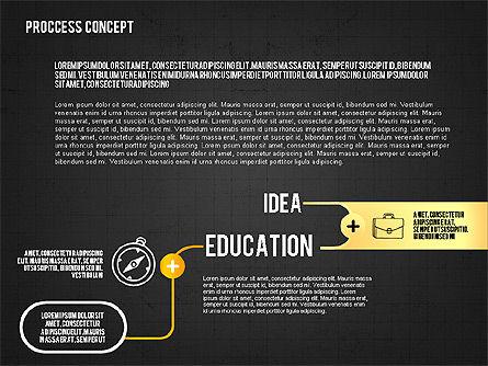 Step by Step Process Presentation Concept, Slide 10, 02487, Process Diagrams — PoweredTemplate.com