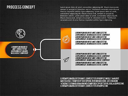 Step by Step Process Presentation Concept, Slide 13, 02487, Process Diagrams — PoweredTemplate.com