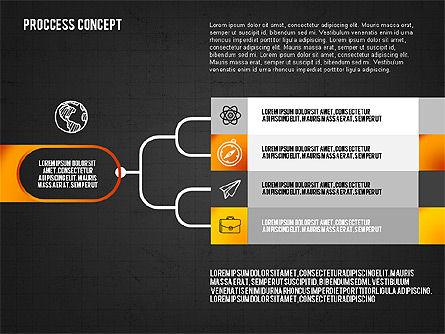 Step by Step Process Presentation Concept, Slide 14, 02487, Process Diagrams — PoweredTemplate.com