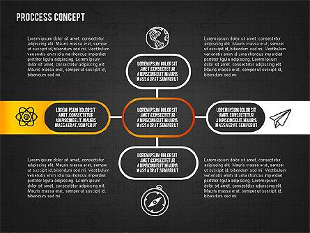 Step by Step Process Presentation Concept, Slide 15, 02487, Process Diagrams — PoweredTemplate.com