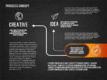 Step by Step Process Presentation Concept, Slide 16, 02487, Process Diagrams — PoweredTemplate.com