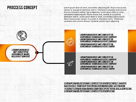 Step by Step Process Presentation Concept, Slide 5, 02487, Process Diagrams — PoweredTemplate.com