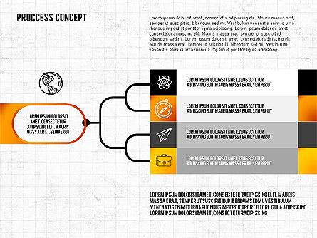 Step by Step Process Presentation Concept, Slide 6, 02487, Process Diagrams — PoweredTemplate.com