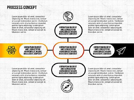 Step by Step Process Presentation Concept, Slide 7, 02487, Process Diagrams — PoweredTemplate.com