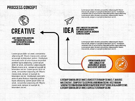 Step by Step Process Presentation Concept, Slide 8, 02487, Process Diagrams — PoweredTemplate.com