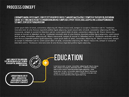 Step by Step Process Presentation Concept, Slide 9, 02487, Process Diagrams — PoweredTemplate.com