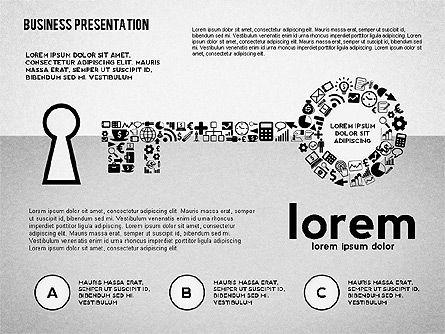 Project Concept Presentation Template, Slide 2, 02491, Presentation Templates — PoweredTemplate.com