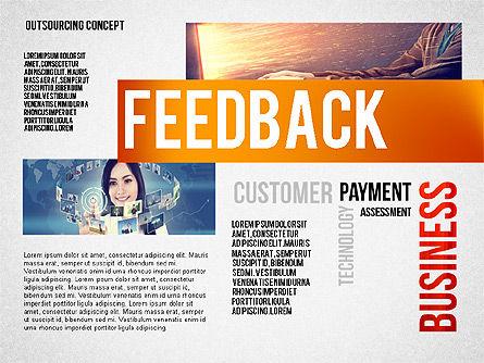 Outsourcing World Cloud, Slide 6, 02493, Presentation Templates — PoweredTemplate.com